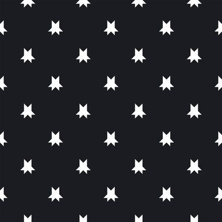 Vector floral minimalist seamless pattern. Simple black and white abstract geometric background with small flowers, petals, stars. Minimal ornament texture. Elegant repeating design for decor, fabric.