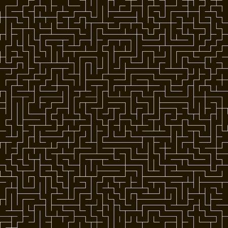 Maze  Seamless vector background  Background for design  Vector