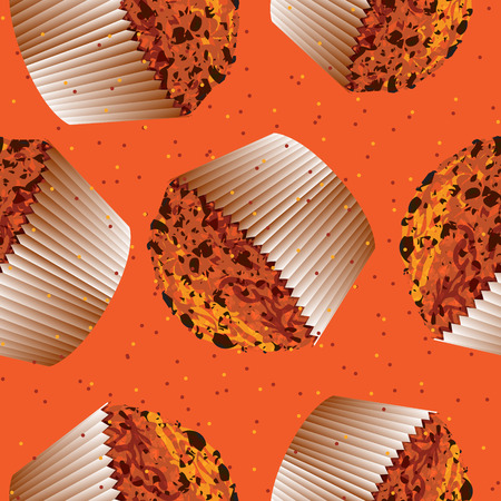 Muffin, cupcake background, kitchen backgrounds  Vector