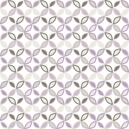 Seamless bright geometric circle pattern  vector Vector