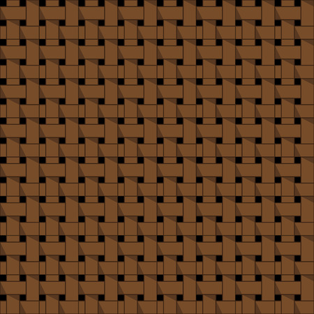 weaving: Weaving basket seamless abstract pattern vector Illustration