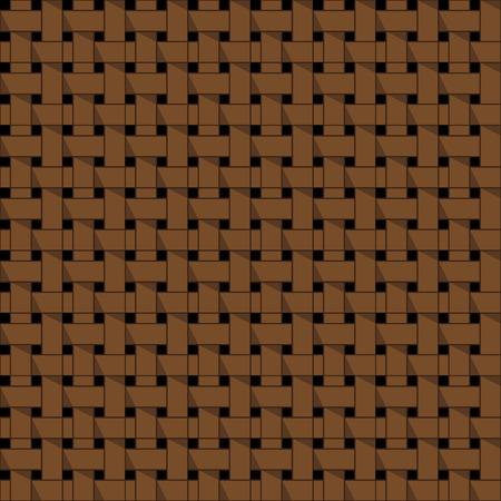 шпон: Ткачество корзина бесшовные абстрактный вектор