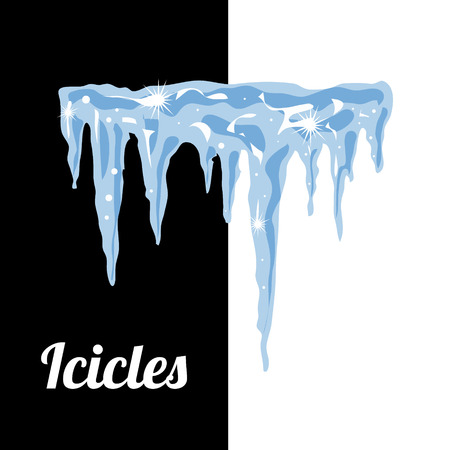 icicles: Icicles, vector set illustration for your design.
