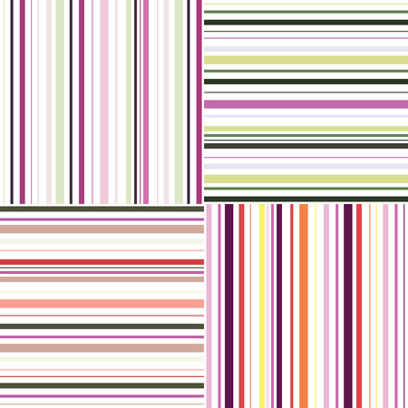 Striped. Seamless abstract vector pattern. Template for design