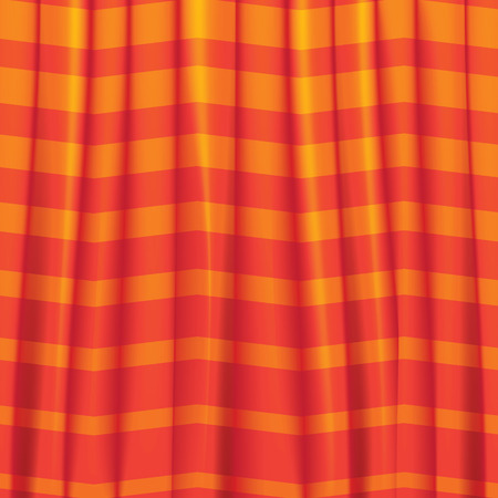 Curtain, Vector background curtains, draperies hanging cloth. Vector