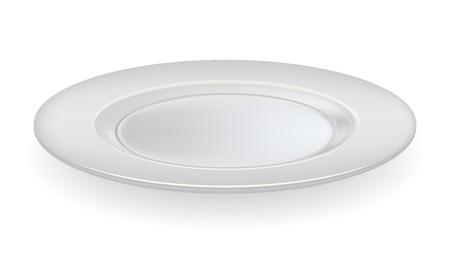 ceramic: placa de cer�mica sobre un fondo blanco