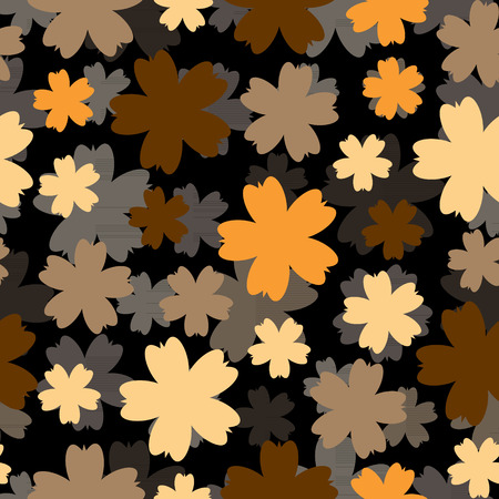 Abstract colorful background with flowers. Floral pattern.