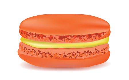 macaroon: Macaroon on a white background. Vector object Illustration