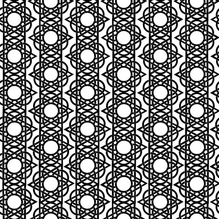Seamless geometric background Vector arabic pattern.