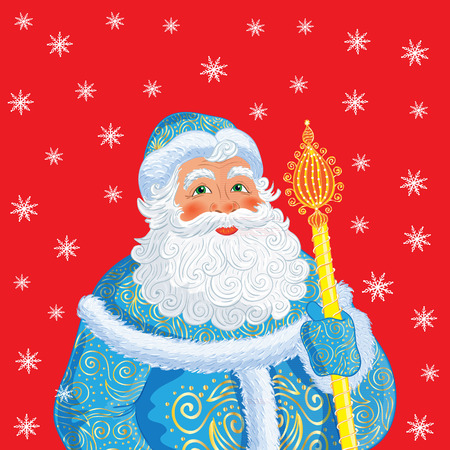 father frost: Russian Christmas and New Year Father Frost