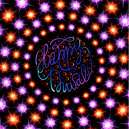 Diwali the Indian Festival of Lights Greeting card