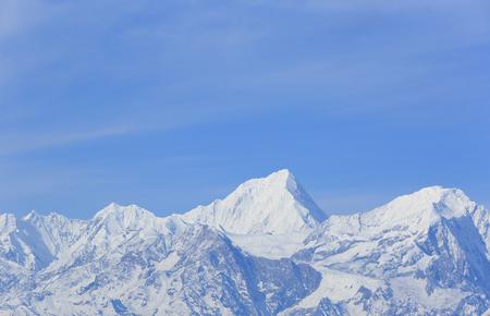 jokul: beautiful snow mountain landscape