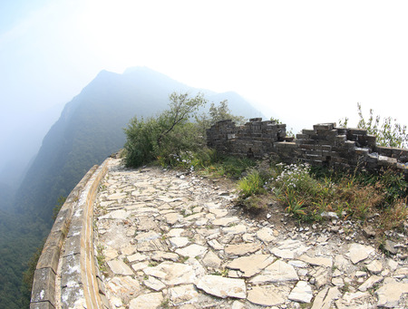 greatwall: landscape at great wall of china