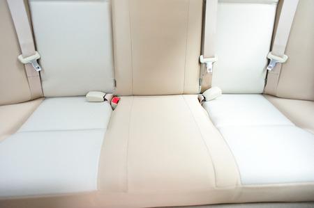 seatbelt: back seat of car