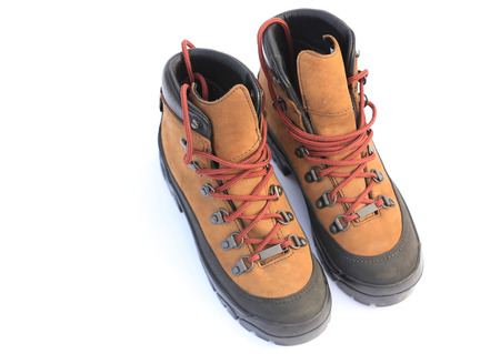 a pair: pair of hiking boots