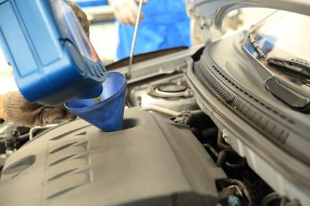 add: add car engine oil