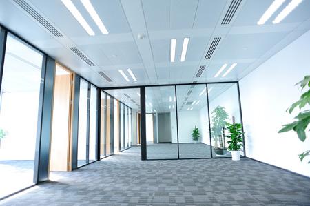 Modern kantoor interieur Redactioneel