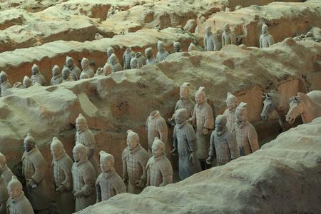 Xian China Terra Cotta Warriors 報道画像