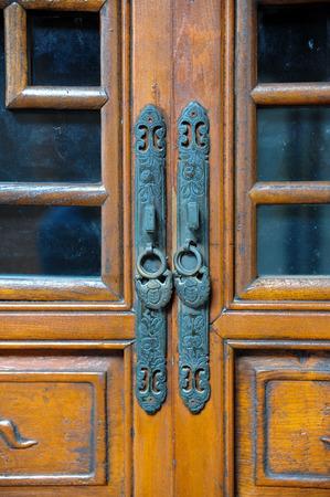 the po valley: Ancient door