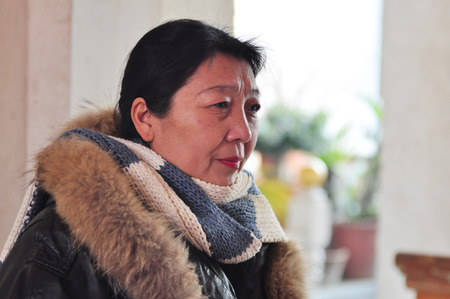 Asian middle-aged women