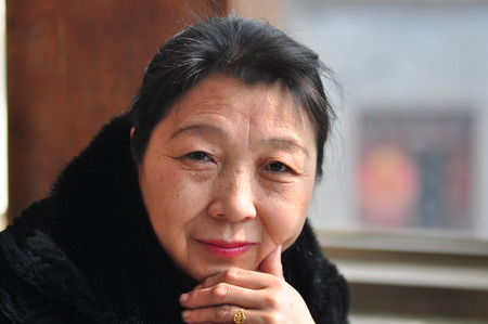 more mature: Asian middle-aged women