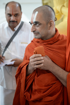 pious: India Buddhist monks