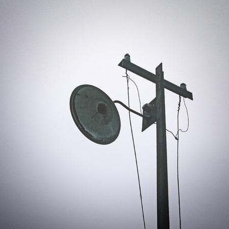 solitude: Old street lamp