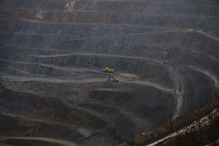 site: mining site Stock Photo