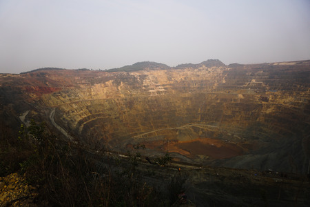 site: mine site