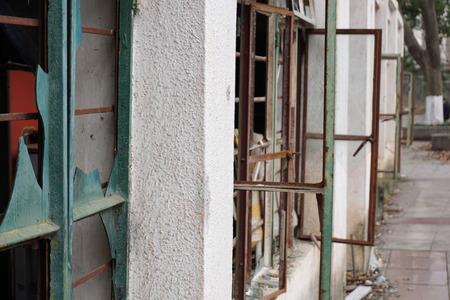 abandoned: abandoned building Stock Photo