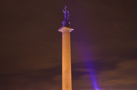 saint petersburg: Night city view Saint Petersburg