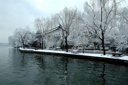 the west lake, hangzhou photo