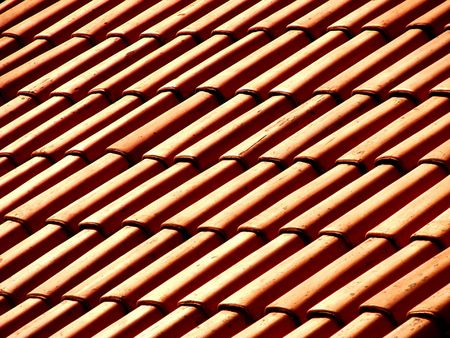 shinning light:  roofing texture
