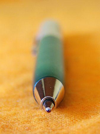 blue pen                             Stock Photo