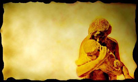 my dear: Una madre amorevole partecipazione del suo bambino su tela ... inviare il vostro amore per la vostra ...