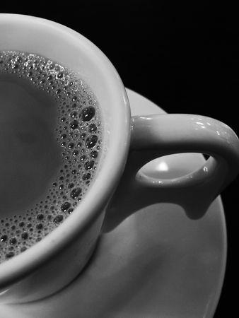 B&W- Cup of Coffee