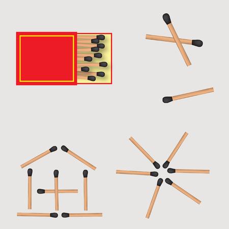 matches: Caja de cerillas y f�sforos de contenedores