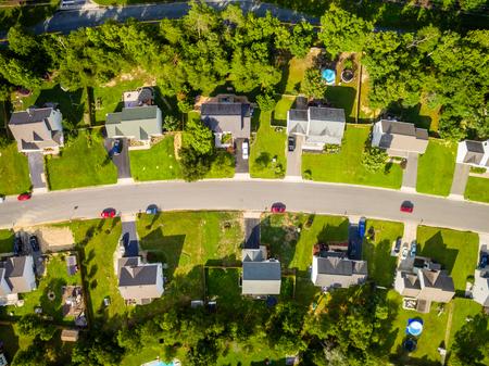 denver buildings: Aerial View Cookie Cutter Neighborhood