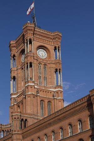 Berlin Rotes Rathaus (Red Town Hall)  photo