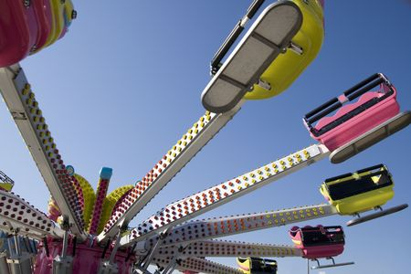 Carrousel on a fun fair.  Stock Photo - 5569060