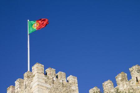 o jorge: Castelo de S�o Jorge in Lisbon Stock Photo