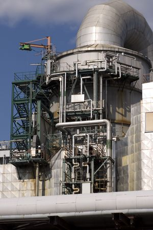 Power plant in Germany Berlin. photo
