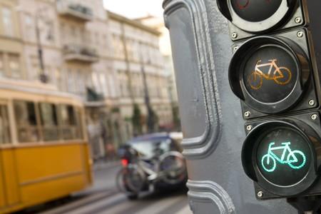 Street scenery in Budapest Hungary  photo