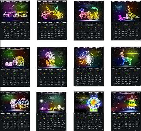 peacock wheel: Calendar2012 (decorazioni esterne di Natale)