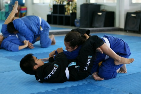 jujitsu: Jujitsu training