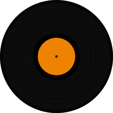 3d cg: orange vinyl texture - prepared for 3D cg Stock Photo