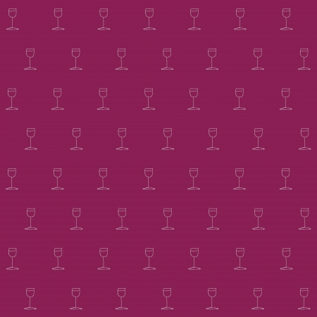 Wine seamless background. Texture pattern. Vector