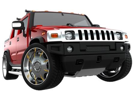sports car: custom suv