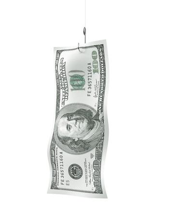 moneymaker: money on hook