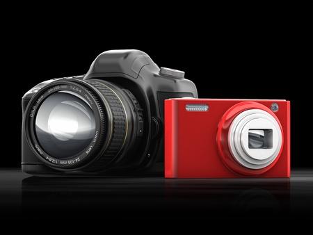 compact camera: cg slr and compact camera